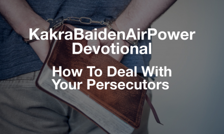 How To Deal With Your Persecutors