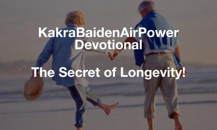 The Secret of Longevity!