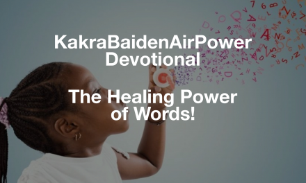 The Healing Power of Words!