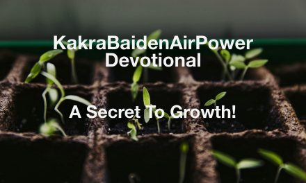 A Secret To Growth!