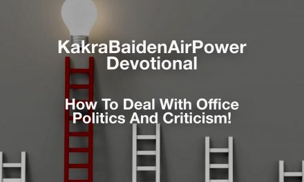 How To Deal With Office Politics And Criticism!