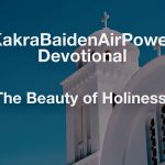The Beauty of Holiness!
