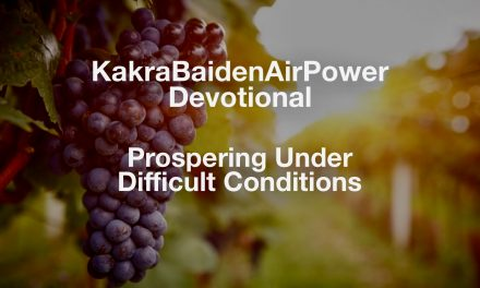 Prospering Under Difficult Conditions