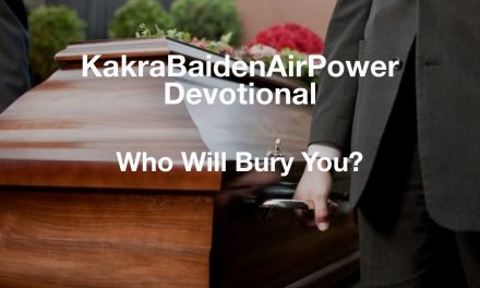 Who Will Bury You?
