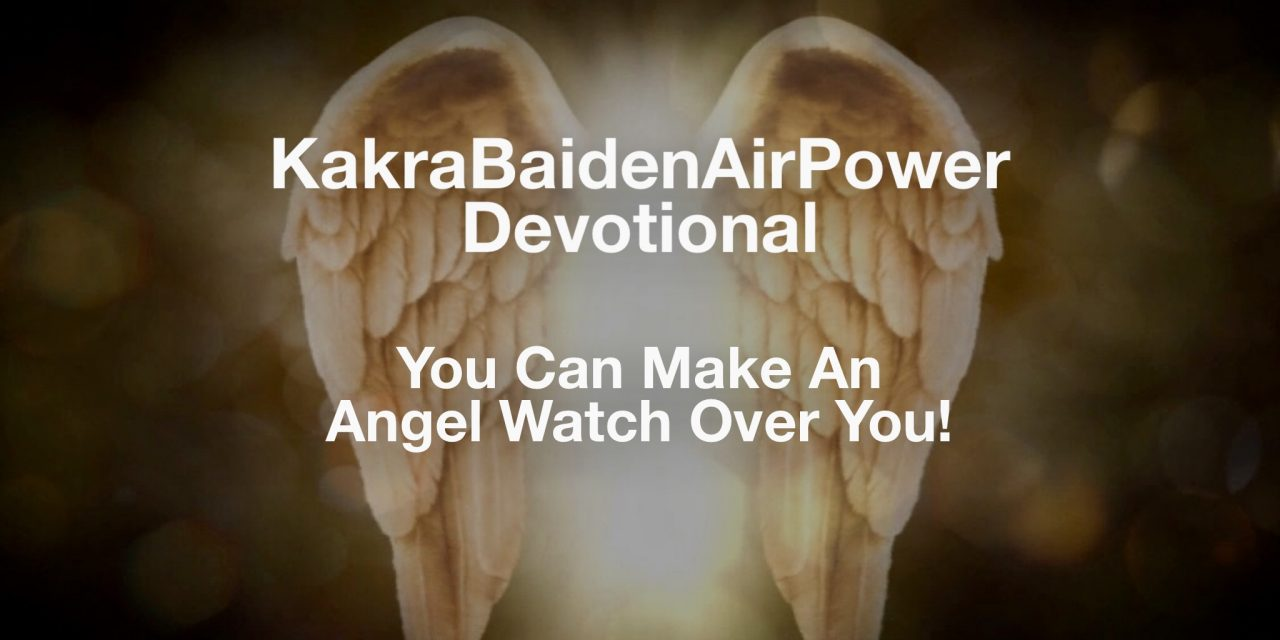 You Can Make An Angel Watch Over You!