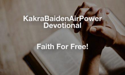 Faith For Free!